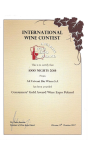 GOLD Medal Wine Expo Poland 2017