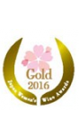 Gold Medal Sakura Japan Wine Awards 2016