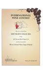 Silver Medal Wine Expo Poland 2017